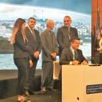 世界観光倫理憲章の署名式